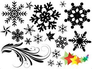 Snowflake Shape Photoshop Free