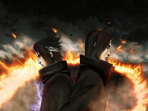 anime naruto shippuuden uchiha itachi uchiha sasuke