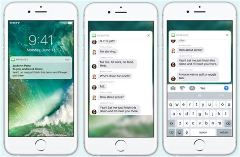 how to see notifications on iphone get to ios 10 s radically new lock screen macworld