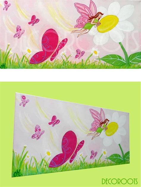 tableau chambre bebe fille tableau enfant bébé envol de papillons décoration