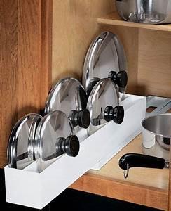 Küche Praktisch Einräumen : five ways to get your pot lids organized topfdeckel k che und haushalte ~ Markanthonyermac.com Haus und Dekorationen