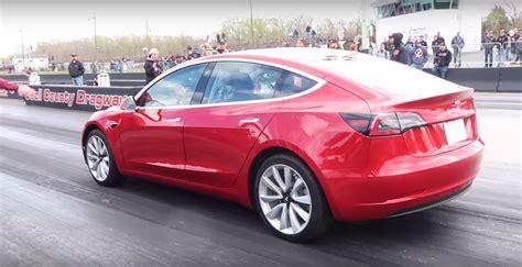 Tesla Model 3 Owner Sets 1/4 Mile Record In Latest