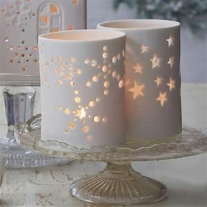 Matt, White, Christmas, Tea, Light, Holder, By, The, Christmas, Home