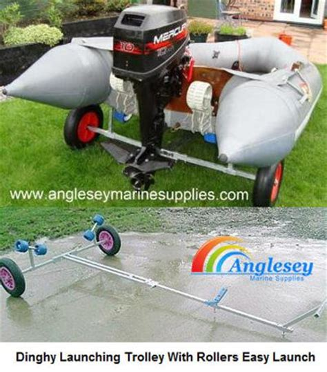 Inflatable Boat Trolley by Dinghy Launching Trolleys Launching Wheels Launching Carts