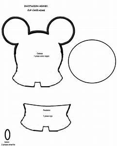 Manualidades todo para tu fiesta con cupcake home: Haz tus invitaciones de Mickey o Minnie Mouse