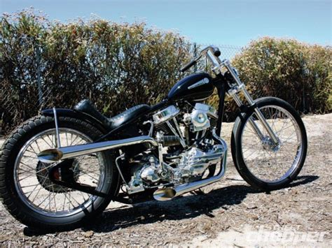 Vintage 1960 Panhead Chopper