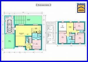 Plan Maison A Etage : plan maison 80m2 etage ~ Melissatoandfro.com Idées de Décoration