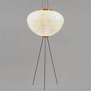 akari model 10a floor lamp by isamu noguchi modern With noguchi paper floor lamp