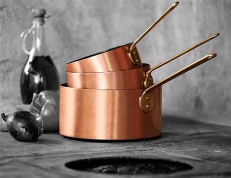 stick copper cookware
