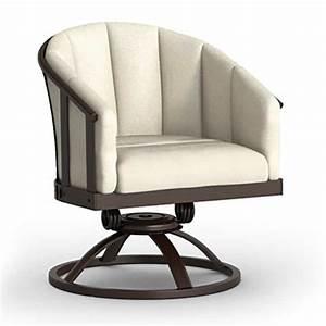 Swivel Rocker Barrel Chair  Dining