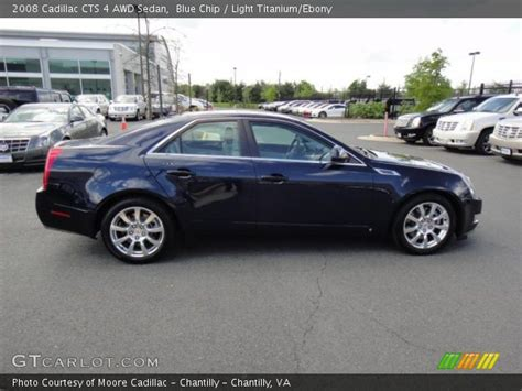 2008 Cadillac Cts Awd by Blue Chip 2008 Cadillac Cts 4 Awd Sedan Light Titanium