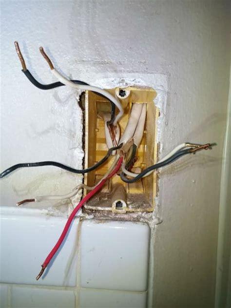 wiring bath lightventheat  triple switch