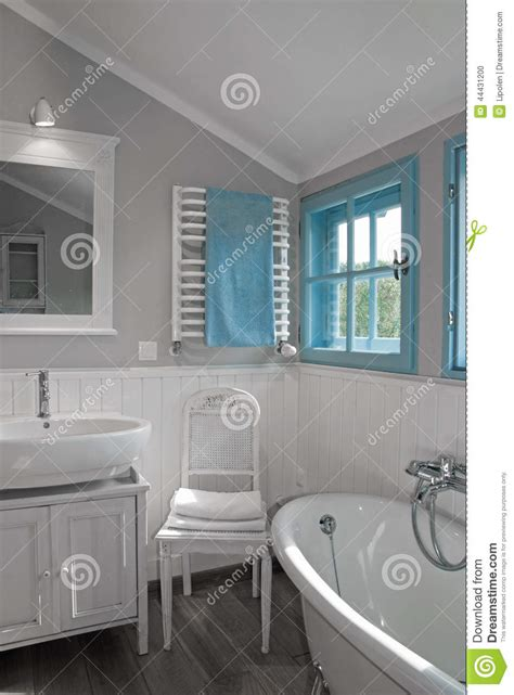 kitchen faucet prices white grey rustic bathroom with window stock photo image