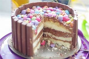 Kitkat Torte Ohne Backen : smartie party kitkat schoko torte backen kuchen geburtstagskuchen und schokolade ~ Frokenaadalensverden.com Haus und Dekorationen