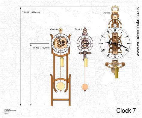 wooden clock wooden clocks wooden gear clock plans