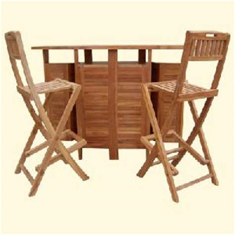 sweden bar table teak garden outdoor furniture folding
