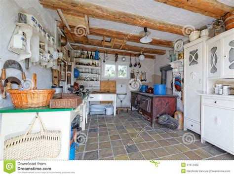Fashioned Kitchen Cupboards by Vintage Kitchen Stock Photo Image Of Cupboards Vintage