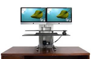 sit stand solutions one touch ultra for pc or imac