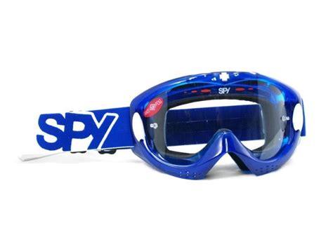spy motocross goggles spy motocross goggle alloy blue crystal mx goggles new ebay