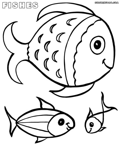 coloring pages  fish coloring pages    print