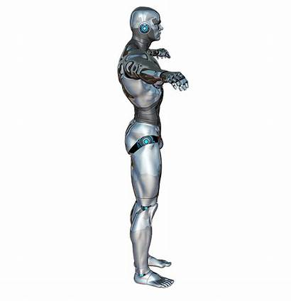 Cyborg Robot Clipart Quadrilateral Android Side Descartes