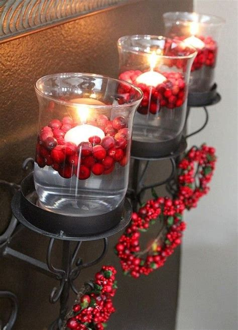 cranberry christmas decor ideas digsdigs