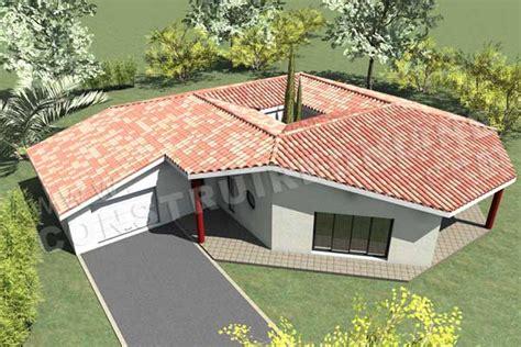 plan de maison moderne spationaute