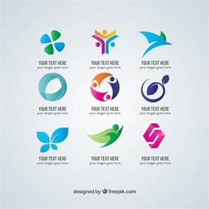 Plantillas de logotipos abstractos gratis | Descargar ...