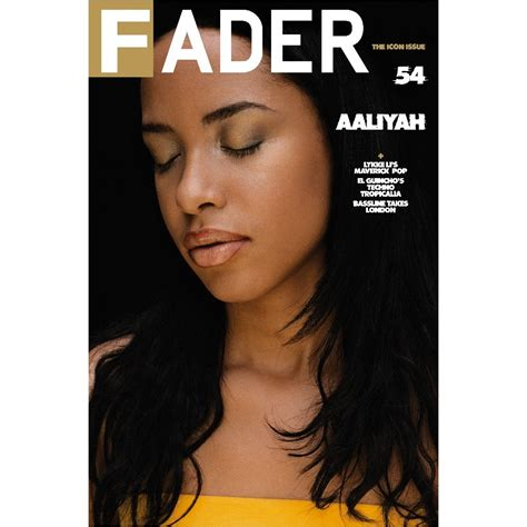"""Aaliyah  The Fader Issue 54 Back Cover 20"""" X 30"""" Poster"""
