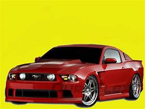 2010-2012 Ford Mustang GT V6 Hot Wheels Complete Body Kit 105873