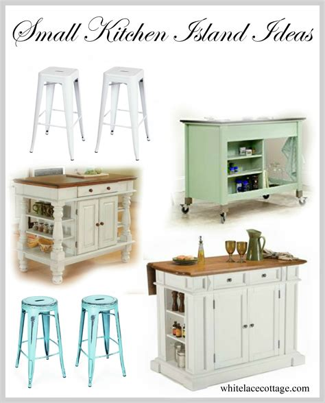 small kitchen island ideas  seating white lace cottage