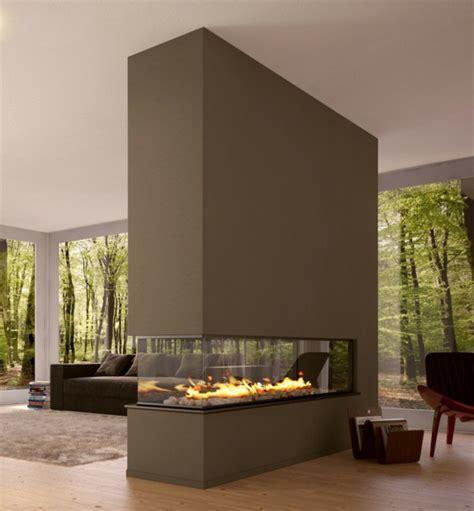 Modernes Wohnzimmer Mit Kamin by 42 Kreative Raumteiler Ideen F 252 R Ihr Zuhause Archzine Net