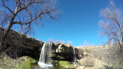 uhd  nature video river falls palo duro canyon youtube