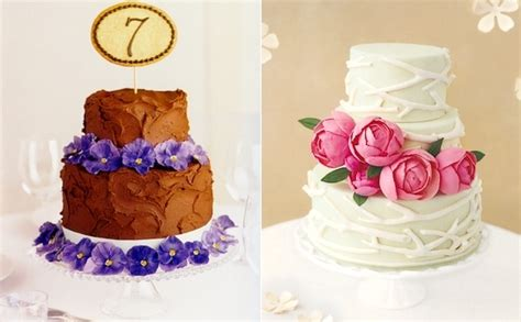 Beautiful Cakes From Real Simple Wedding 2009 Lace And Tea