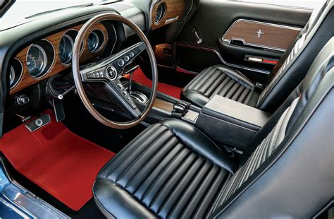ford mustang mach  interior photo