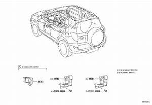 Toyota Rav4 Ignition Immobilizer Module  Amplifier