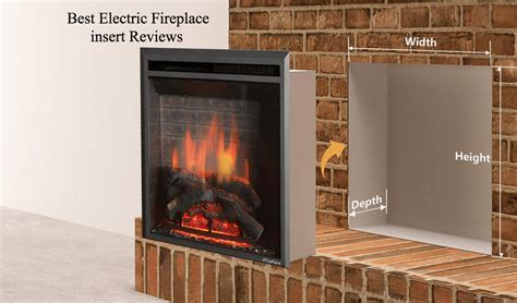 15 Best Electric Fireplace insert (Nov. 2018): Reviews and