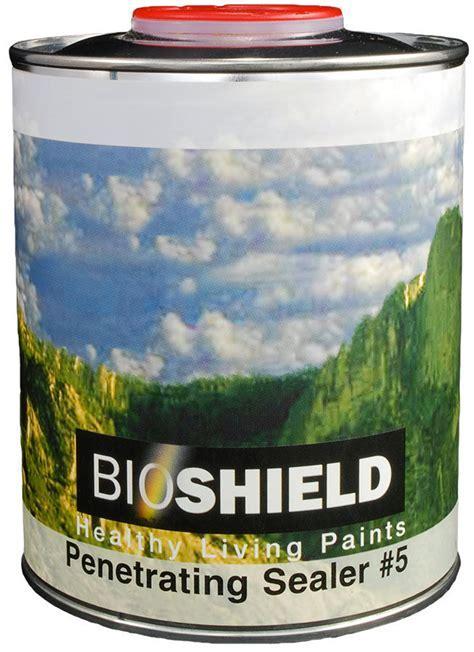 Bioshield, Penetrating Oil Sealer   Non Toxic, High Solids