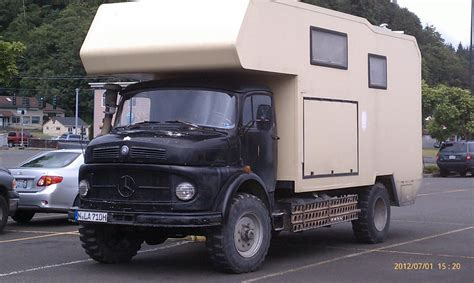 Maybe you would like to learn more about one of these? Vintage Mercedes-Benz LA710 4×4 Truck Camper - Truck Camper HQ