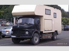 Vintage MercedesBenz LA710 4×4 Truck Camper – Truck Camper HQ