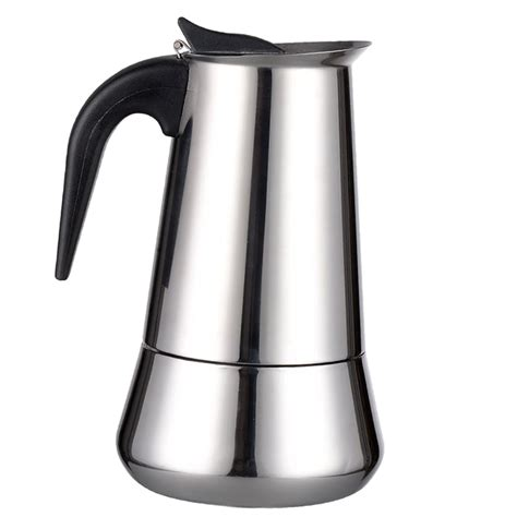 It makes excellent italian coffee and has the construction to last for a long time. Moka Induction Italian Stovetop Espresso Coffee Maker ...