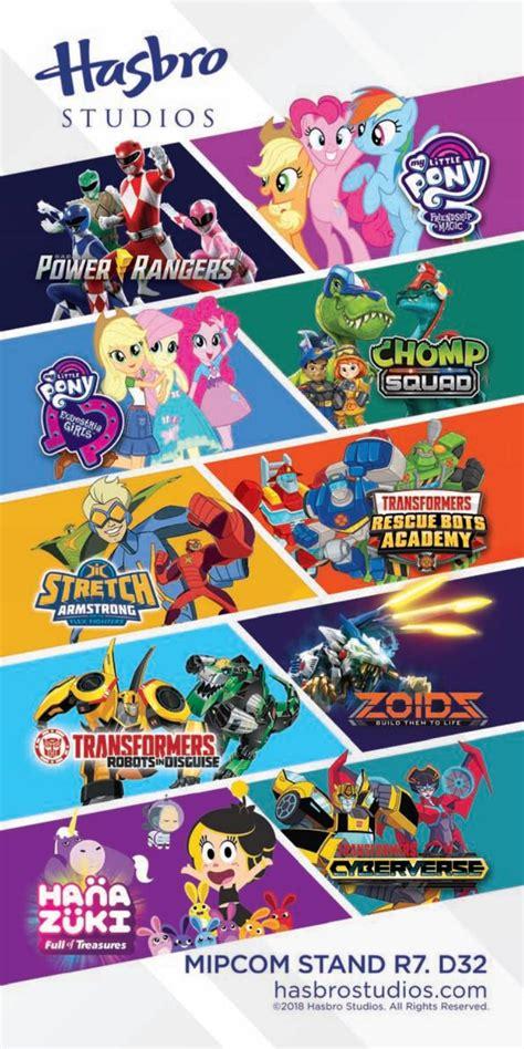 hasbro studios zoids wild tv switch game anime mlp netflix hope seemingly toyline overseas bringing power mipcom licensed mip jr