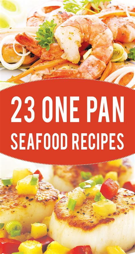one pan recipes 23 one pan healthy seafood recipes to try right now noncount