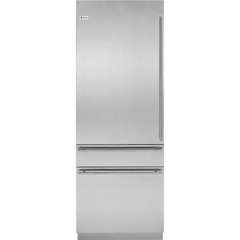 monogram european left hinge door panel kit  refrigerators freezers silver  pacific sales