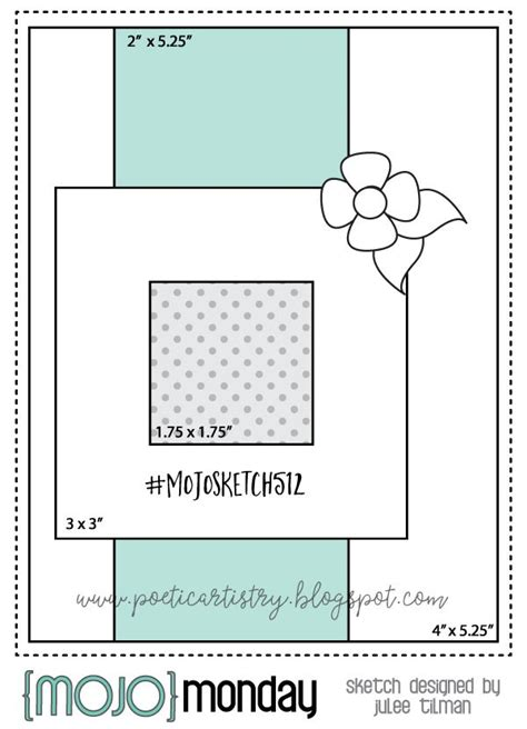 mojo monday   images card sketches templates