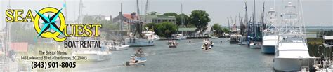 Boat Rentals Charleston Sc by Charleston Boat Rental With Seaquest Boat Rental