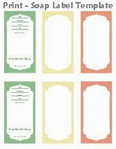 free printable cigar band soap label template soap With free soap labels to print