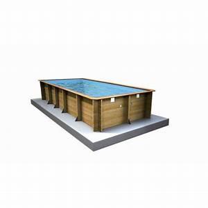 piscine hors sol bois weva procopi rectangulaire 45x8 With attractive leroy merlin piscine bois 2 bien choisir sa piscine hors sol leroy merlin