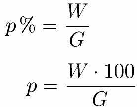 1 Prozent Regelung Berechnen : prozentsatz prozentzahl aufgaben und bungen ~ Themetempest.com Abrechnung