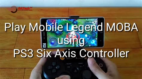 Mobile Legend Moba Anti Mainstream. Play Moba Using Ps3